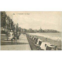 carte postale ancienne 35 PARAME. La Digue 1927