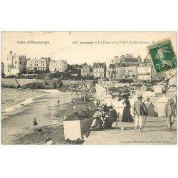 carte postale ancienne 35 PARAME. Pointe Rochebonne 1908
