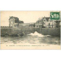 carte postale ancienne 35 PARAME. Pointe Rochebonne 1924