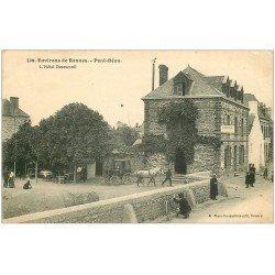 carte postale ancienne 35 PONT-REAN. Hôtel Desmesnil