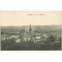 carte postale ancienne 35 REDON. Vue 1917 n°1
