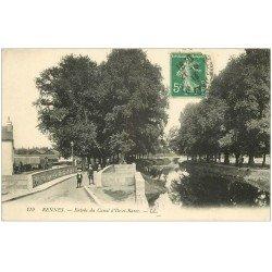carte postale ancienne 35 RENNES. Canal Ile-et-Rance 1913