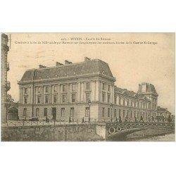 carte postale ancienne 35 RENNES. Faculté Sciences 1923
