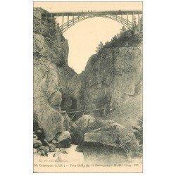 carte postale ancienne 05 BRIANCON. Pont Baldy sur la Cerveyrette