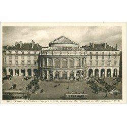 carte postale ancienne 35 RENNES. Le Théâtre 4431