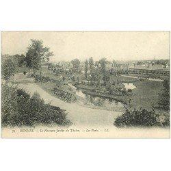 carte postale ancienne 35 RENNES. Les Ponts Thabor