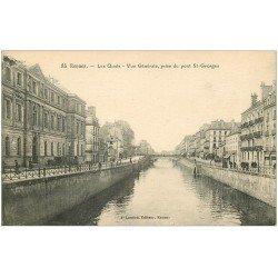 carte postale ancienne 35 RENNES. Les Quais