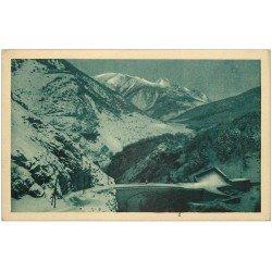 carte postale ancienne 05 BRIANCON. Pont d'Asfeld Fort des Salettes le Chaberton 1927