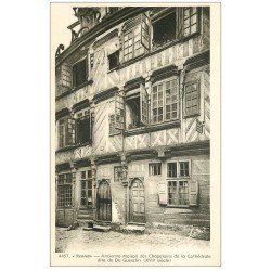 carte postale ancienne 35 RENNES. Maison Chapelains