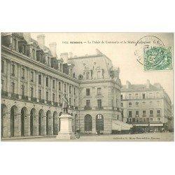 carte postale ancienne 35 RENNES. Palais Commerce 1907