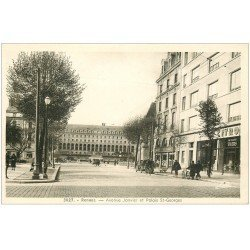 carte postale ancienne 35 RENNES. Palais Saint-Georges Avenue Janvier