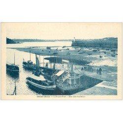 carte postale ancienne 35 SAINT-MALO. Avant-Port