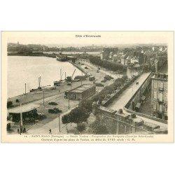 carte postale ancienne 35 SAINT-MALO. Bassin Vauban n°12