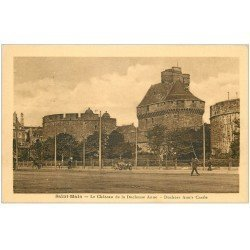 carte postale ancienne 35 SAINT-MALO. Château Duchesse