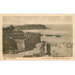 carte postale ancienne 35 SAINT-MALO. Château et Beys