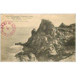 carte postale ancienne 35 SAINT-MALO. Ile Cézembre