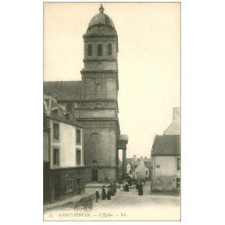 carte postale ancienne 35 SAINT-SERVAN. L'Eglise