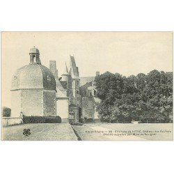 carte postale ancienne 35 VITRE environs. Château Rochers vers 1900 n°28