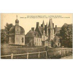 carte postale ancienne 35 VITRE environs. Château Rochers vers 1900 n°3300