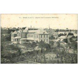 carte postale ancienne 35 VITRE. Hôpital Civil