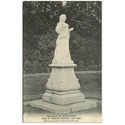 carte postale ancienne 35 VITRE. Marquise Sévigné 1911 Rabutin-Chantal