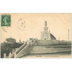 carte postale ancienne 36 ARGENTON. Chapelle 1911