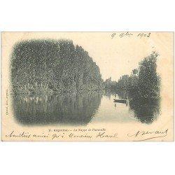carte postale ancienne 36 ARGENTON. Nappe Paumulle 1903