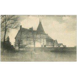 carte postale ancienne 36 BOMMIERS. Château Boissoudy