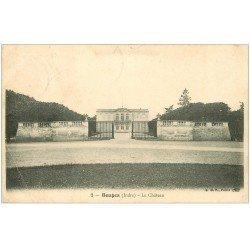 carte postale ancienne 36 BOUGES. Château 1905 (plissure coin)...