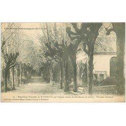 carte postale ancienne 36 BOURROUX. Propriété par Veigné 1916