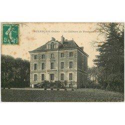 carte postale ancienne 36 BUZANCAIS. Château Bonneau 1910