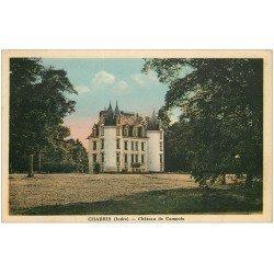 carte postale ancienne 36 CHABRIS. Châteaux Campoix 1936