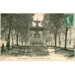 carte postale ancienne 36 CHATEAUROUX. Fontaine Mijotte 1909