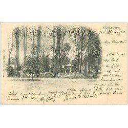 carte postale ancienne 36 CHATEAUROUX. Jardin Public 1901