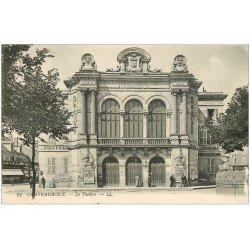 carte postale ancienne 36 CHATEAUROUX. Le Théâtre