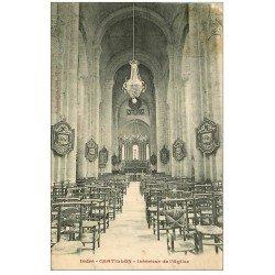carte postale ancienne 36 CHATILLON. Eglise
