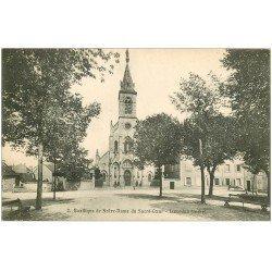 carte postale ancienne 36 ISSOUDUN. Basilique