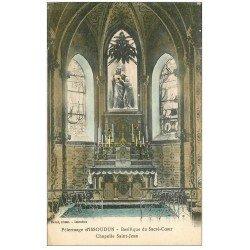 carte postale ancienne 36 ISSOUDUN. Basilique. Chapelle 1925