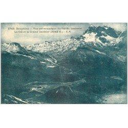 carte postale ancienne 05 LE LAUTARET. Col du Grand Galibier