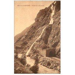 carte postale ancienne 05 LE LAUTARET. Gorge de la Romanche 1935