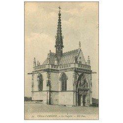 carte postale ancienne 37 AMBOISE. Chapelle n°34