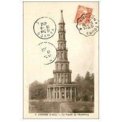 carte postale ancienne 37 AMBOISE. Pagode Chanteloup 1952