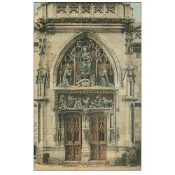 carte postale ancienne 37 AMBOISE. Porte Chapelle