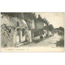 carte postale ancienne 37 AMBOISE. Troglodytes