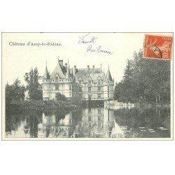 carte postale ancienne 37 AZAY-LE-RIDEAU. Château