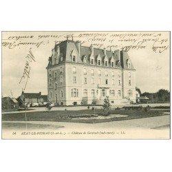 carte postale ancienne 37 AZAY-LE-RIDEAU. Château Gerfault