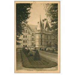carte postale ancienne 37 AZAY-LE-RIDEAU. Château l'Allée