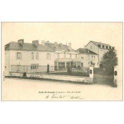 carte postale ancienne 37 BEAUMONT-EN-VERON. Asile Saint-Joseph