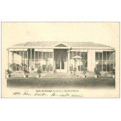 carte postale ancienne 37 BEAUMONT-EN-VERON. Asile Saint-Joseph Jardin d'hiver