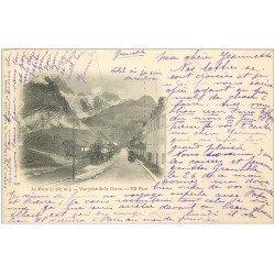 carte postale ancienne 05 MASSIF DE LA MEIJE vue prise de la Grave 1902